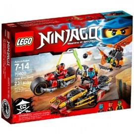 Lego Persecucion en Moto