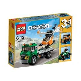 Transporte de Helicopteros Lego