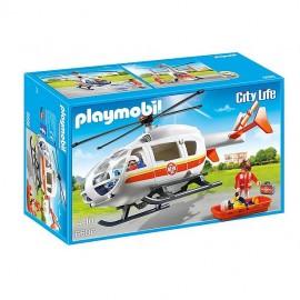 Helicoptero Medico Urgencias 6686