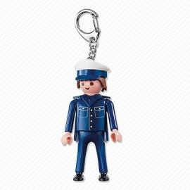 Llavero Policia