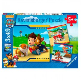 Puzzle 49x3 Paw Patrol