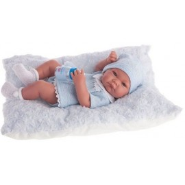 Muñeco Recien Nacido Nico Cojin