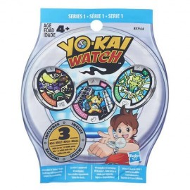 Sobre Sorpresa 3 Medallas Yokai Watch