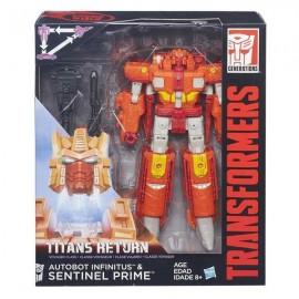 Figura Transformers Titan Surtida