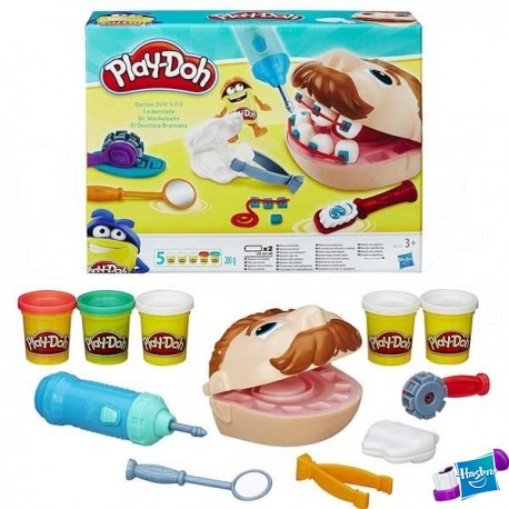 Play Doh Dentista Bromista