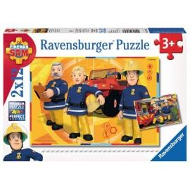 Puzzle 12x2 Sam el Bombero