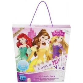 Puzzle 24x4 Princess 3D