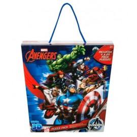 Puzzle 24x4 Avengers 3D