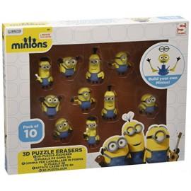 Caja Minions Puzzle 3D