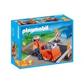 Asfaltadora Playmobil