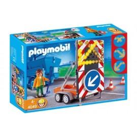 Vehiculo de Señales Playmobil