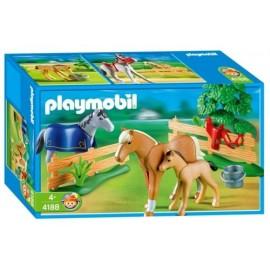 Prado con Potros Playmobil