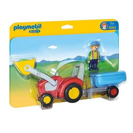 Tractor con Remolque 123