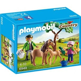 Veterinario con Pony 6949