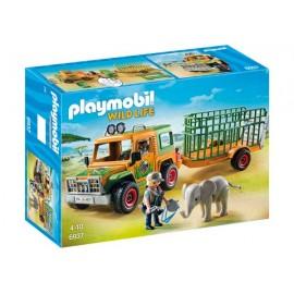 Camion con Elefante 6937