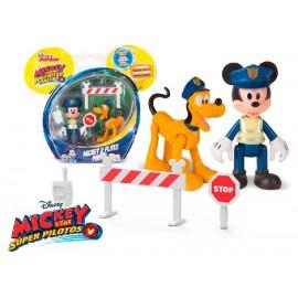 Mickey Pluto Policia
