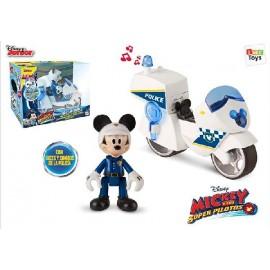 Mickey Moto Policia