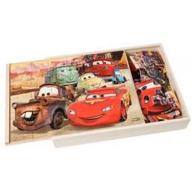 Puzzle Madera Cars