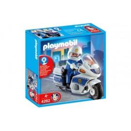 Moto Policia Playmobil
