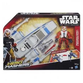 Nave con Figura Star Wars Surtida
