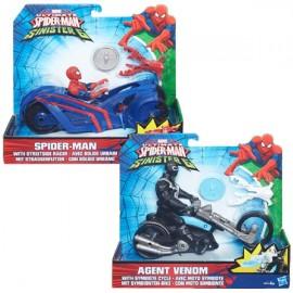 Spiderman con Vehiculo Surtido