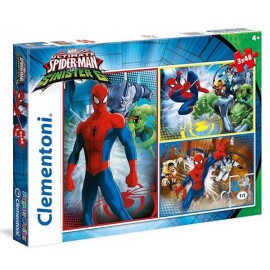 Puzzle 48x3 Spiderman