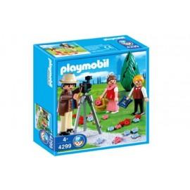 Fotografo con Niños Playmobil