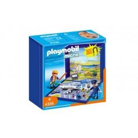 Micro Mundo Aereopuerto Playmobil