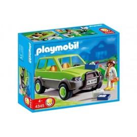 Veterinaria con Coche Playmobil