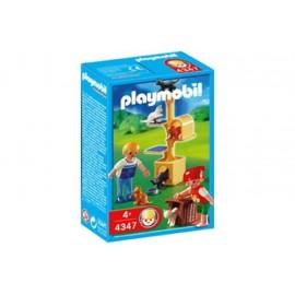 Arbol con Gatos Playmobil