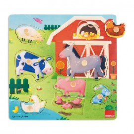 Puzzle Madera Animales