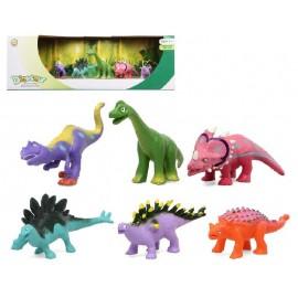 Caja 6 Dinosaurios Surtidos