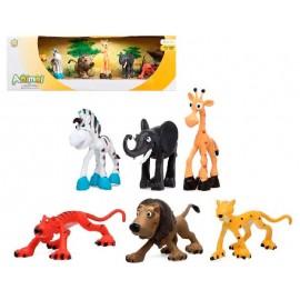 Caja 6 Animales Selva
