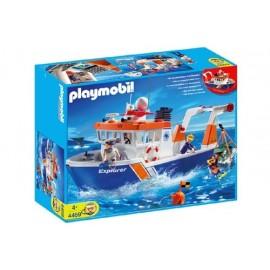 Barco de Investigacion Playmobil