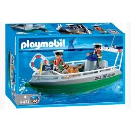 Policia Portuaria Playmobil