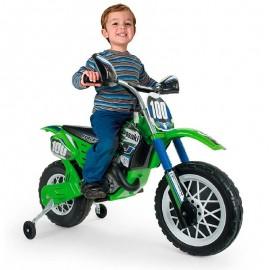 Moto Kawasaki 6v. Verde Injusa