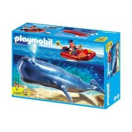 Ballena y Lancha Playmobil