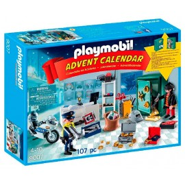 Calendario Robo en la Joyeria 6849