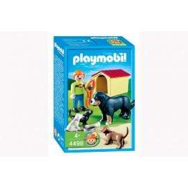 Familia de Perros Playmobil