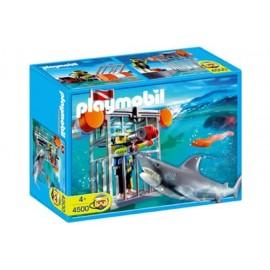 Buzo y Tiburon Playmobil