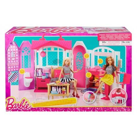 Barbie De Pedrosa Vacaciones Casa 29wdieheyb Juguetes 0wNmv8n