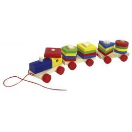 Tren de Madera Encajables