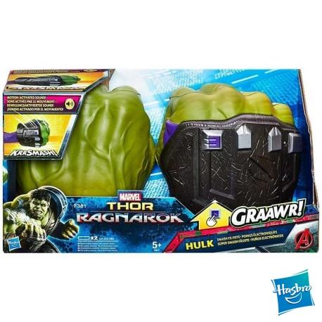 Puños Hulk Electronico Thor