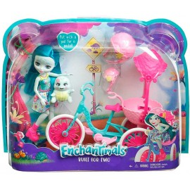 Figura Enchantimals con Vehiculo Surtido
