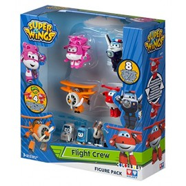 Super Wings Caja 4 Vehiculos