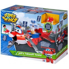 Super Wings Jett Maletin Transformable