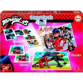 Super Pack 4 en 1 Ladybug
