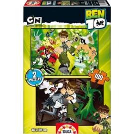 Puzzle 100x2 Ben10