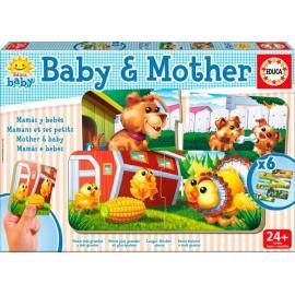 Puzzle Baby Mama y Bebes