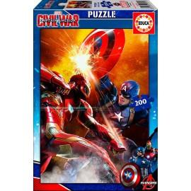 Puzzle 200 Capitan America